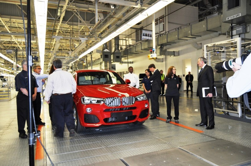 BMW X3 and X4 Factory Tour in 111 High-Res Photos -- Cool, Calm, and Quiet = Opposite of Most Auto Plants 92