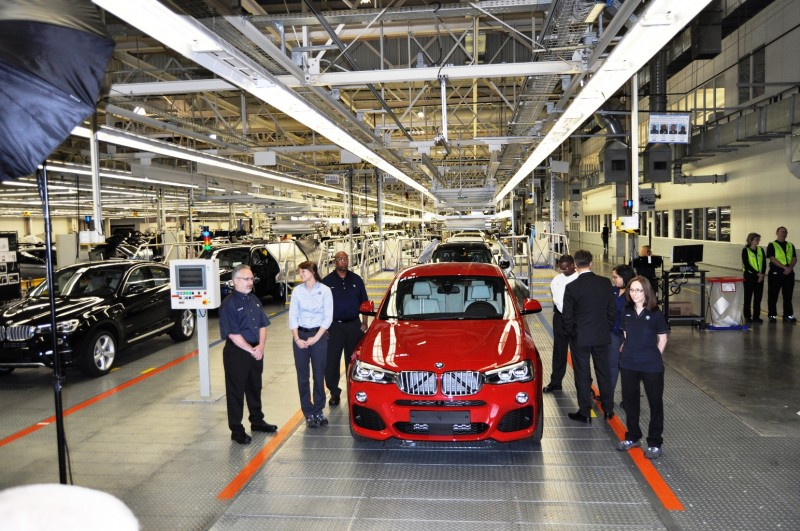 BMW X3 and X4 Factory Tour in 111 High-Res Photos -- Cool, Calm, and Quiet = Opposite of Most Auto Plants 94