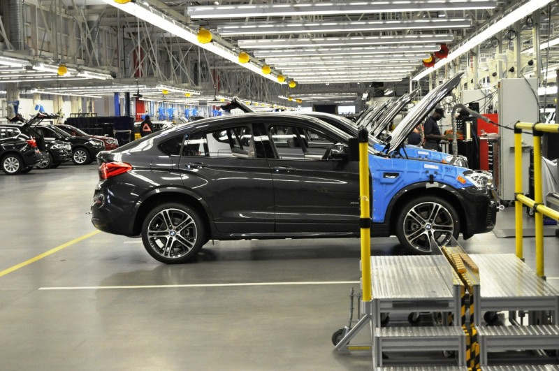 BMW X3 and X4 Factory Tour in 111 High-Res Photos -- Cool, Calm, and Quiet = Opposite of Most Auto Plants 96