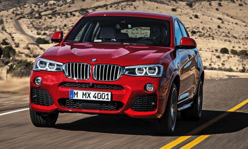 BMW X4 GIF 2