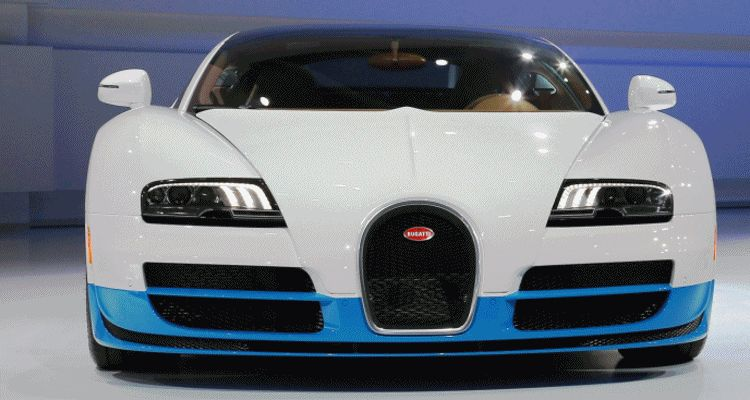 BUGATTI Marque Showcase -- Geneva, Salon Prive and Pebble Beach -- Veyron Vitesse and GS Rembrandt -- Plus GIF