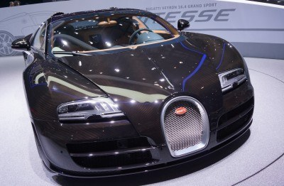 BUGATTI Marque Showcase -- Geneva, Salon Prive and Pebble Beach -- Veyron Vitesse and GS Rembrandt -- Plus Venet, Jean Bugatti, L'Or Blanc and GS Vitesse 14