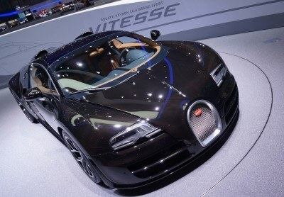 BUGATTI Marque Showcase -- Geneva, Salon Prive and Pebble Beach -- Veyron Vitesse and GS Rembrandt -- Plus Venet, Jean Bugatti, L'Or Blanc and GS Vitesse 15