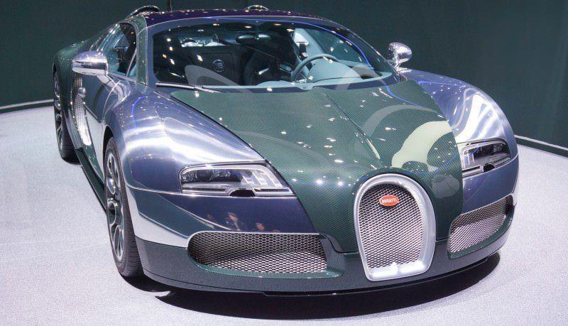 BUGATTI Marque Showcase -- Geneva, Salon Prive and Pebble Beach -- Veyron Vitesse and GS Rembrandt -- Plus Venet, Jean Bugatti, L'Or Blanc and GS Vitesse 17