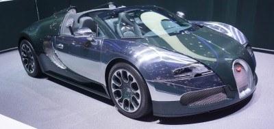 BUGATTI Marque Showcase -- Geneva, Salon Prive and Pebble Beach -- Veyron Vitesse and GS Rembrandt -- Plus Venet, Jean Bugatti, L'Or Blanc and GS Vitesse 19