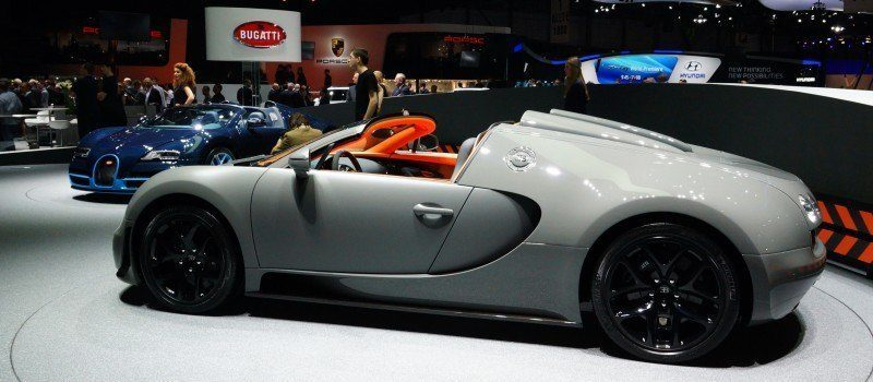 BUGATTI Marque Showcase -- Geneva, Salon Prive and Pebble Beach -- Veyron Vitesse and GS Rembrandt -- Plus Venet, Jean Bugatti, L'Or Blanc and GS Vitesse 22