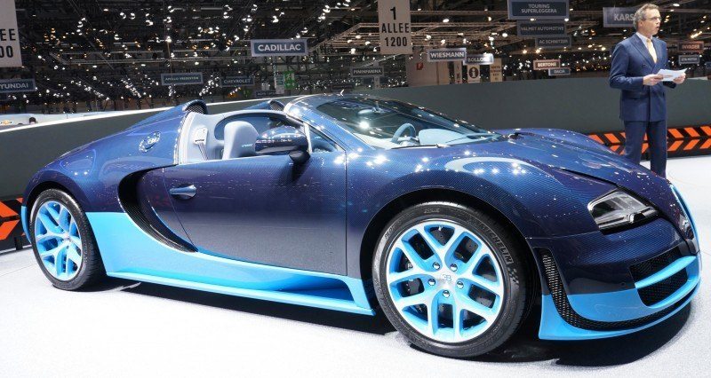 BUGATTI Marque Showcase -- Geneva, Salon Prive and Pebble Beach -- Veyron Vitesse and GS Rembrandt -- Plus Venet, Jean Bugatti, L'Or Blanc and GS Vitesse 24