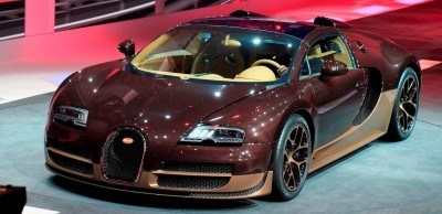 BUGATTI Marque Showcase -- Geneva, Salon Prive and Pebble Beach -- Veyron Vitesse and GS Rembrandt -- Plus Venet, Jean Bugatti, L'Or Blanc and GS Vitesse 3