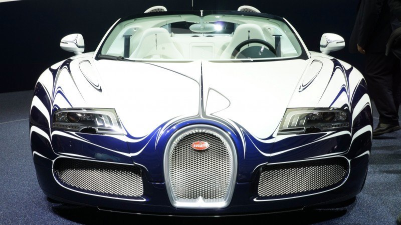 BUGATTI Marque Showcase -- Geneva, Salon Prive and Pebble Beach -- Veyron Vitesse and GS Rembrandt -- Plus Venet, Jean Bugatti, L'Or Blanc and GS Vitesse 31
