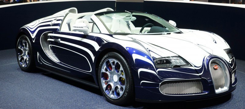 BUGATTI Marque Showcase -- Geneva, Salon Prive and Pebble Beach -- Veyron Vitesse and GS Rembrandt -- Plus Venet, Jean Bugatti, L'Or Blanc and GS Vitesse 34