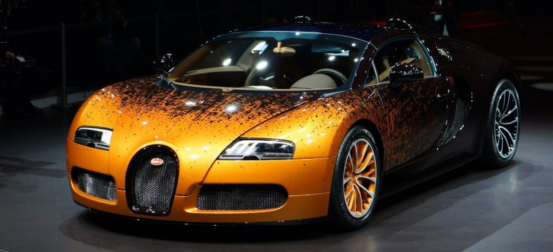 BUGATTI Marque Showcase -- Geneva, Salon Prive and Pebble Beach -- Veyron Vitesse and GS Rembrandt -- Plus Venet, Jean Bugatti, L'Or Blanc and GS Vitesse 35