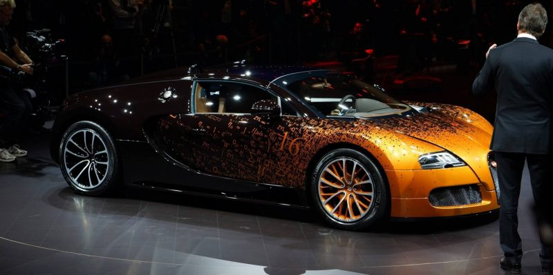 BUGATTI Marque Showcase -- Geneva, Salon Prive and Pebble Beach -- Veyron Vitesse and GS Rembrandt -- Plus Venet, Jean Bugatti, L'Or Blanc and GS Vitesse 36
