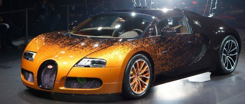 BUGATTI Marque Showcase -- Geneva, Salon Prive and Pebble Beach -- Veyron Vitesse and GS Rembrandt -- Plus Venet, Jean Bugatti, L'Or Blanc and GS Vitesse 37