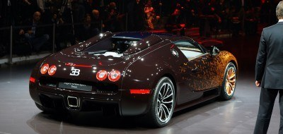 BUGATTI Marque Showcase -- Geneva, Salon Prive and Pebble Beach -- Veyron Vitesse and GS Rembrandt -- Plus Venet, Jean Bugatti, L'Or Blanc and GS Vitesse 39