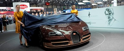 BUGATTI Marque Showcase -- Geneva, Salon Prive and Pebble Beach -- Veyron Vitesse and GS Rembrandt -- Plus Venet, Jean Bugatti, L'Or Blanc and GS Vitesse 40