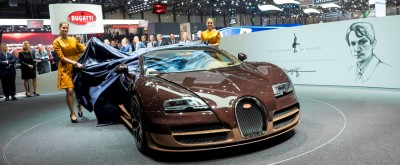 BUGATTI Marque Showcase -- Geneva, Salon Prive and Pebble Beach -- Veyron Vitesse and GS Rembrandt -- Plus Venet, Jean Bugatti, L'Or Blanc and GS Vitesse 41