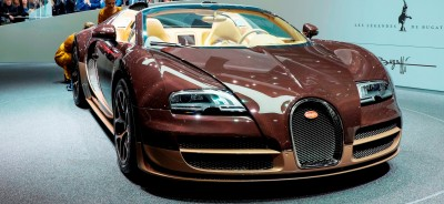 BUGATTI Marque Showcase -- Geneva, Salon Prive and Pebble Beach -- Veyron Vitesse and GS Rembrandt -- Plus Venet, Jean Bugatti, L'Or Blanc and GS Vitesse 42