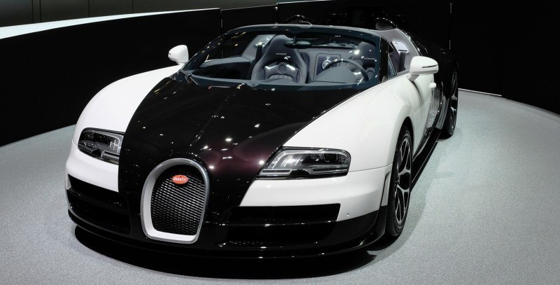 BUGATTI Marque Showcase -- Geneva, Salon Prive and Pebble Beach -- Veyron Vitesse and GS Rembrandt -- Plus Venet, Jean Bugatti, L'Or Blanc and GS Vitesse 46