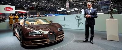BUGATTI Marque Showcase -- Geneva, Salon Prive and Pebble Beach -- Veyron Vitesse and GS Rembrandt -- Plus Venet, Jean Bugatti, L'Or Blanc and GS Vitesse 5