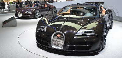 BUGATTI Marque Showcase -- Geneva, Salon Prive and Pebble Beach -- Veyron Vitesse and GS Rembrandt -- Plus Venet, Jean Bugatti, L'Or Blanc and GS Vitesse 6