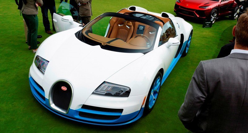 BUGATTI Marque Showcase -- Geneva, Salon Prive and Pebble Beach -- Veyron Vitesse and GS Rembrandt -- Plus Venet, Jean Bugatti, L'Or Blanc and GS Vitesse 60