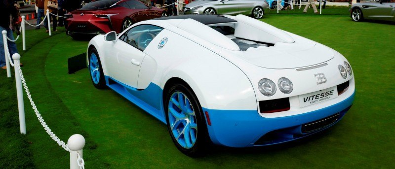 BUGATTI Marque Showcase -- Geneva, Salon Prive and Pebble Beach -- Veyron Vitesse and GS Rembrandt -- Plus Venet, Jean Bugatti, L'Or Blanc and GS Vitesse 61