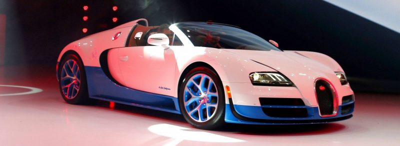 BUGATTI Marque Showcase -- Geneva, Salon Prive and Pebble Beach -- Veyron Vitesse and GS Rembrandt -- Plus Venet, Jean Bugatti, L'Or Blanc and GS Vitesse 63