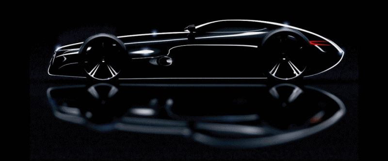 Berger Silver Arrow and 2011 MB Silver Arrows Concept GIF