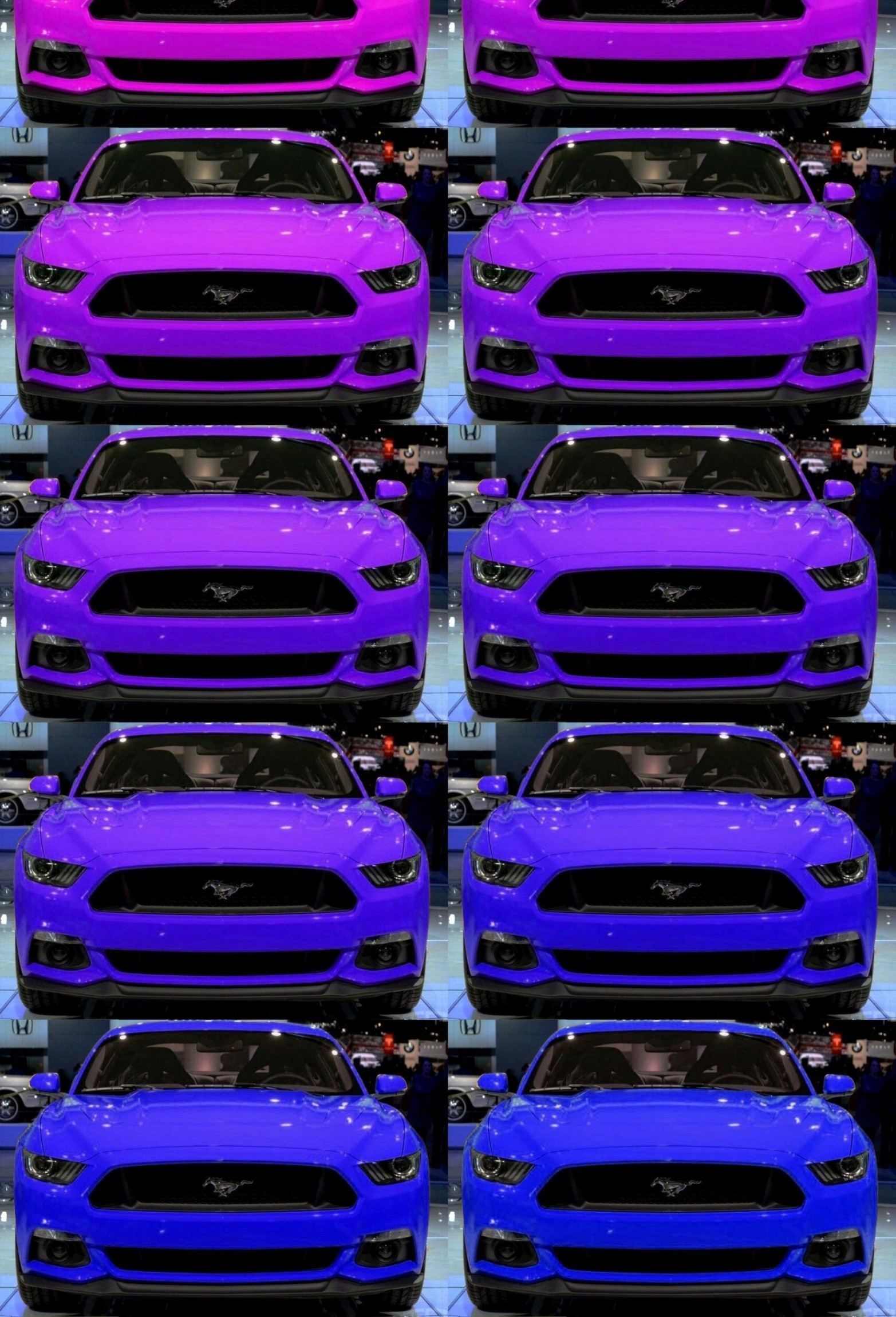 2015 Ford Mustang Gt Custom Colors