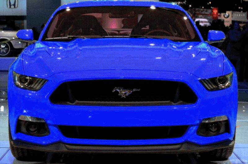 CAR-REVS-DAILY.COM -- FANTASY COLORIZER 2015 FORD MUSTANG GIF FAST ALL