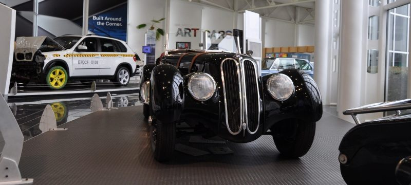 Car Museums Showcase -- 1937 BMW 328 at Zentrum Museum in Spartanburg 1
