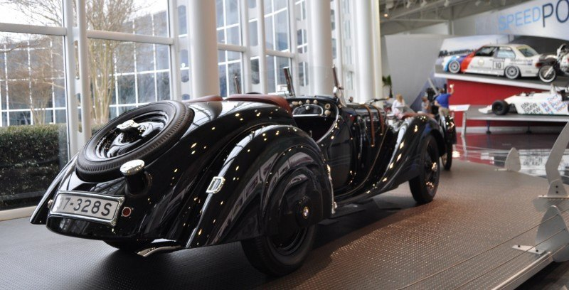 Car Museums Showcase -- 1937 BMW 328 at Zentrum Museum in Spartanburg 10