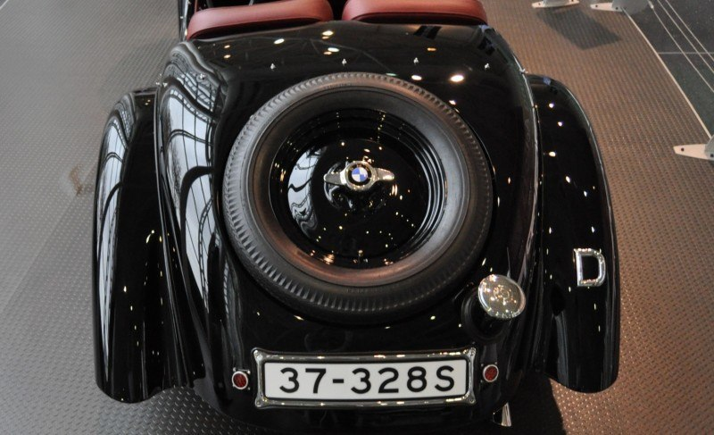 Car Museums Showcase -- 1937 BMW 328 at Zentrum Museum in Spartanburg 15