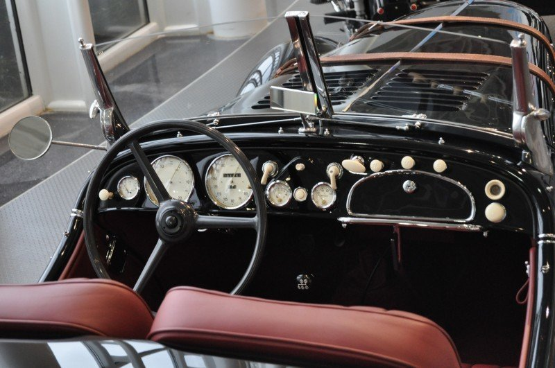 Car Museums Showcase -- 1937 BMW 328 at Zentrum Museum in Spartanburg 17