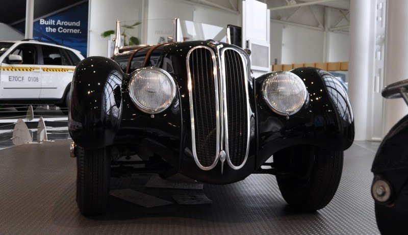 Car Museums Showcase -- 1937 BMW 328 at Zentrum Museum in Spartanburg 2