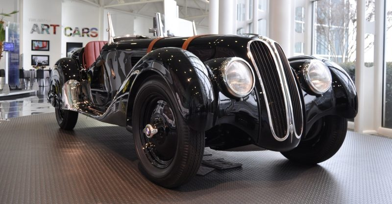Car Museums Showcase -- 1937 BMW 328 at Zentrum Museum in Spartanburg 3