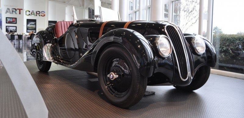 Car Museums Showcase -- 1937 BMW 328 at Zentrum Museum in Spartanburg 4