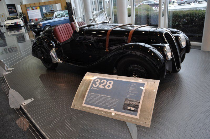 Car Museums Showcase -- 1937 BMW 328 at Zentrum Museum in Spartanburg 5