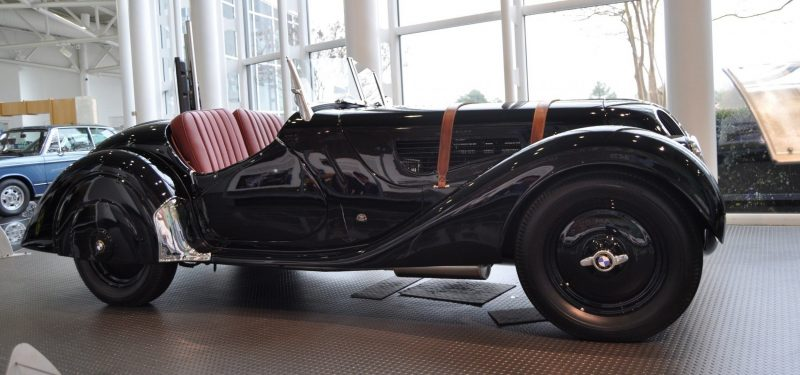 Car Museums Showcase -- 1937 BMW 328 at Zentrum Museum in Spartanburg 6