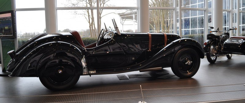 Car Museums Showcase -- 1937 BMW 328 at Zentrum Museum in Spartanburg 8