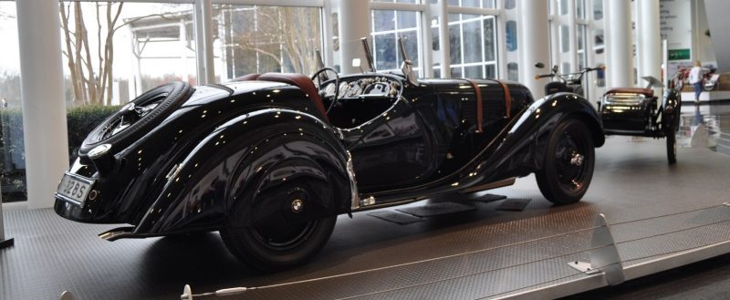 Car Museums Showcase -- 1937 BMW 328 at Zentrum Museum in Spartanburg 9