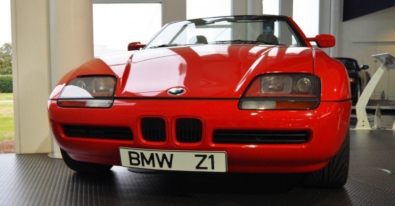 Car Museums Showcase -- 1989 BMW Z1 at Zentrum in Spartanburg, SC -- High Demand + High Price Led Directly to US-Built Z3 10