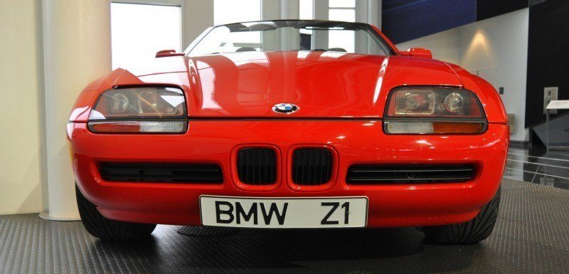 Car Museums Showcase -- 1989 BMW Z1 at Zentrum in Spartanburg, SC -- High Demand + High Price Led Directly to US-Built Z3 11
