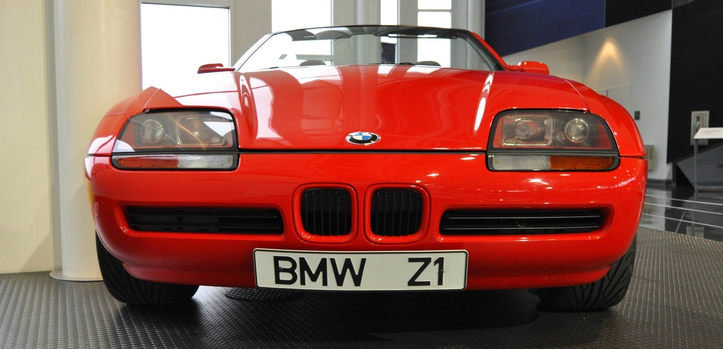 Car-Museums-Showcase-1989-BMW-Z1-at-Zentrum-in-Spartanburg-SC-High-Demand-+-High-Price-Led-Directly-to-US-Built-Z3-11 Stunning Bmw Z1 Hardtop for Sale Cars Trend