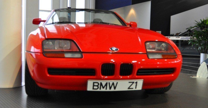 Updated With 36 New Photos 1989 Bmw Z1 At Zentrum In