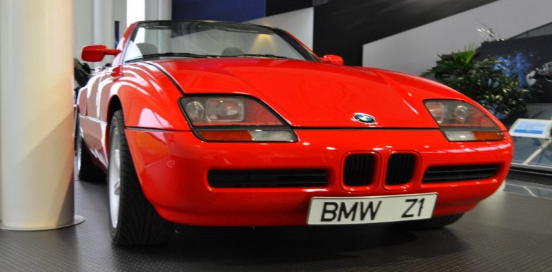 Car Museums Showcase -- 1989 BMW Z1 at Zentrum in Spartanburg, SC -- High Demand + High Price Led Directly to US-Built Z3 13