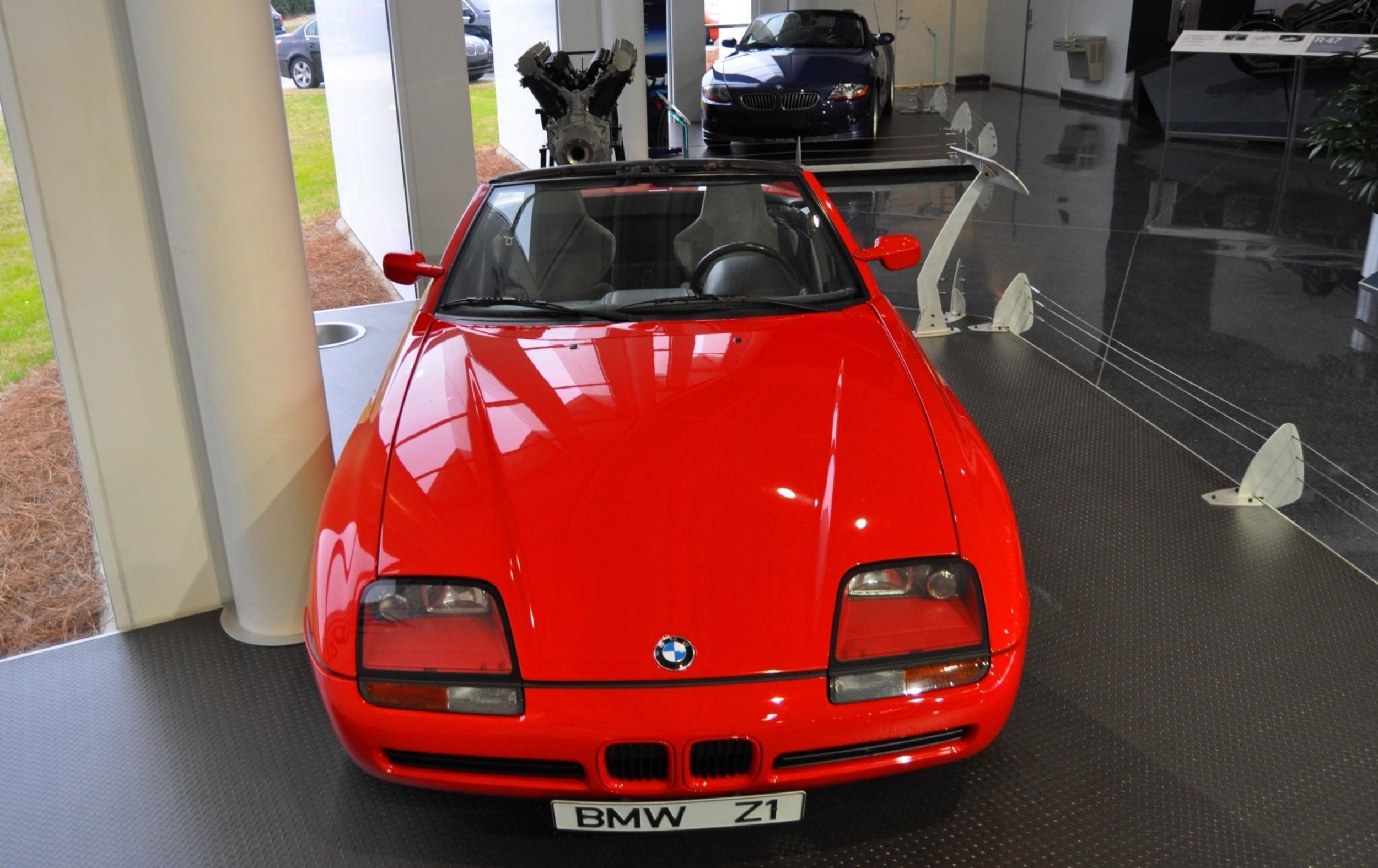 Car-Museums-Showcase-1989-BMW-Z1-at-Zentrum-in-Spartanburg-SC-High-Demand-+-High-Price-Led-Directly-to-US-Built-Z3-15 Stunning Bmw Z1 Hardtop for Sale Cars Trend