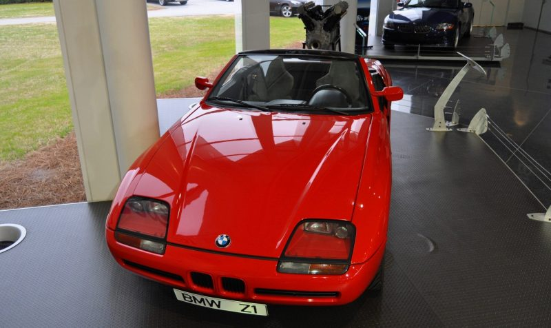 Car Museums Showcase -- 1989 BMW Z1 at Zentrum in Spartanburg, SC -- High Demand + High Price Led Directly to US-Built Z3 16