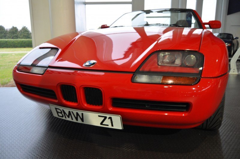 Car Museums Showcase -- 1989 BMW Z1 at Zentrum in Spartanburg, SC -- High Demand + High Price Led Directly to US-Built Z3 18