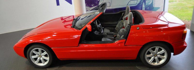 Car Museums Showcase -- 1989 BMW Z1 at Zentrum in Spartanburg, SC -- High Demand + High Price Led Directly to US-Built Z3 4